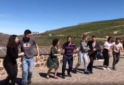 Diyarbakırda davullu zurnalı Swing