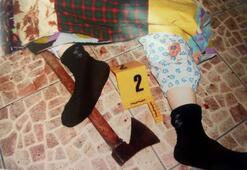 Korkunç olay 82 yaşındaki kadını torunları baltayla öldürüp...