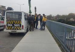 Kağıthanede minibüsün içinde bir kişi ölü bulundu