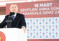 Cumhurbaşkanı Afrin müjdesini Çanakkale'den verdi: O gün galip geldik bugün de zafer bizim