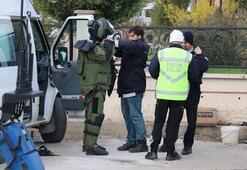 Ters yolda bariyere çarpan minibüsün sürücüsü öldü, polis alarma geçti