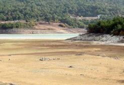 Çanakkalede barajlar boşaldı