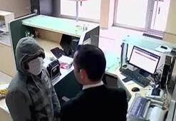 PTT şubesinde memur direndi, soyguncu kaçtı