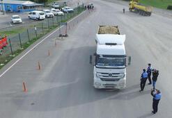 Hafriyat kamyonlarına takip cihazı böyle takılıyor