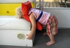 Her an her yerde uyuyabilir