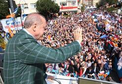 Cumhurbaşkanı Erdoğan Beykoza müjdeyi verdi