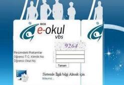 E-Okul ile öğrenci karne notu sorgulama ve eOkul VBS (veli bilgilendirme sistemi) takdir teşekkür hesaplama