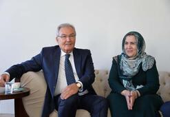 Baykaldan Ahmet Türkün evine ziyaret