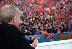 Cumhurbaşkanı Erdoğan:  O dönemde ölüler bile rehin alınıyordu