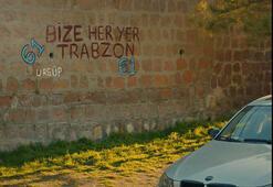 Aşk ve Maviden Trabzonspora saygı duruşu