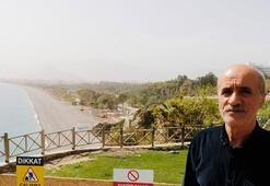 Antalya semalarını çöl tozu kapladı