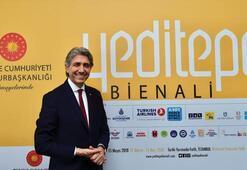 Dünyada muadili olmayan 'Yeditepe Bienali' tarihi yarımadada