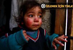 Evinin odunluğuna girdiğinde Suriyeli aile karşısına çıktı