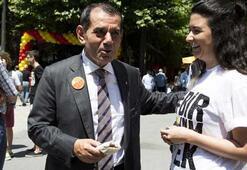 Galatasaray mezunları pilav gününde Tohum ekti