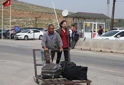 Suriyelilerin güvenli bölgelere dönüşü sürüyor