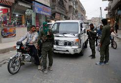 Son dakika... Şok fotoğraflar geldi Menbicte eli silahlı YPGliler...