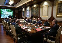 Beştepede Savunma Sanayii İcra Komitesi toplantısı