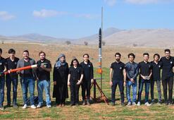 Üniversiteli öğrencilerinden geliştirilmiş yerli roket Tuğra-11