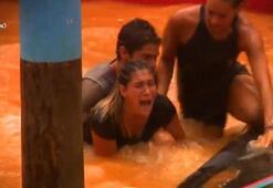 Survivorda korkunç olay Berna Canbeldek bir anda çığlık attı...