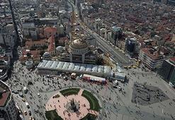 Taksim Camiinin kaba inşaatının yüzde 85i tamamlandı