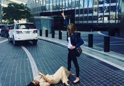 Eva Longoria, Melanie Griffith için yere yattı