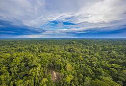 Fırtına rotayı değiştirdi, Amazon kabilesini fotoğrafladı