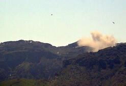 Son dakika: Cudi Dağında PKKya hava destekli operasyon
