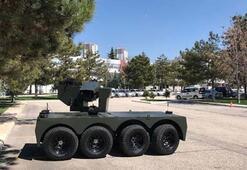 Türkiyenin yeni insansız kara aracı: Tarantula