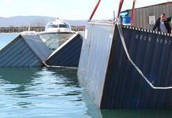 Denizdeki başıboş konteynerlerden bakın ne çıktı