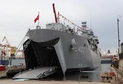 TCG Sancaktar harp gemisi Deniz Kuvvetlerine teslim edildi