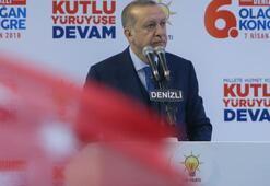Cumhurbaşkanı Erdoğan: 5 milyar dolar verecektik, sonra vazgeçtiler