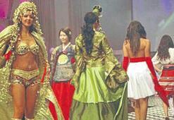 Çetiner'in kostümü İtalya'da birinci