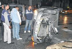 Alkollü sürücü yolunu şaşırdı: 1 kişi yaralı