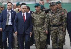 Başbakan Yıldırım: Türk askeri varsa barış vardır
