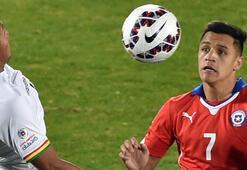 Şili gol oldu yağdı Sanchez...