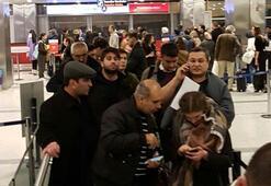 Atatürk Havalimanında pistler kapandı