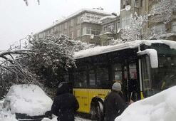 İstanbulda hayat felç
