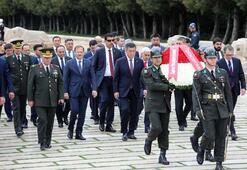 Tarihi ziyaret Kırgızistan Cumhurbaşkanı Ceenbekov Ankarada