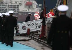 TCG Alemdar Türk donanmasına teslim edildi