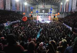 Ak Partili Ataş, salondan ayrılan partililere tepki gösterdi