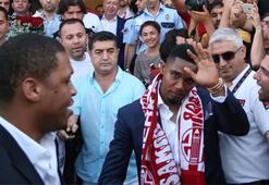 Etoo Antalyaya geldi