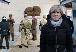 Son dakika... Eşi benzeri olmayan köyde ABD ve Kuzey Kore askerleri karşı karşıya