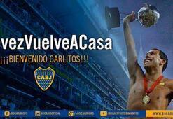 Tevez resmen Boca Juniorsta