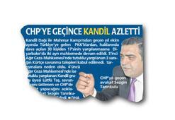 CHP'YE GEÇİNCE Mİ KANDİL AZLETTİ