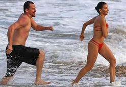 Channing Tatum ile Jenna Dewan tatilde
