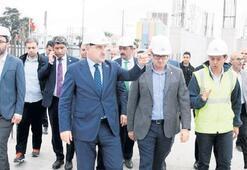 Bakan Bak'tan Altınordu ve  Alsancak Stadı'na ziyaret