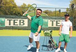 Tenisin reklam yüzü oldu