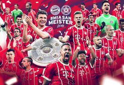 Bayern Münih bitime 5 hafta kala şampiyon