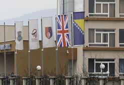 Bosna Hersekteki FETÖ okullarında İngiliz bayrağı