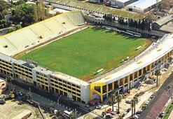 Alsancak Stadı bakıma alındı